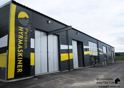 Industrilokal, Persson Hyrmaskiner Uddevalla