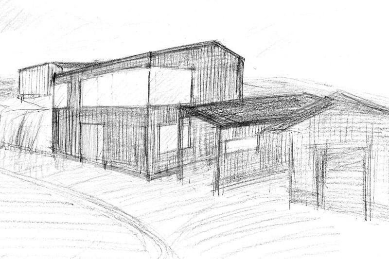 Nybyggnation villa i Hamburgsund