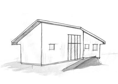 Tillbyggnad villa, Tjörn
