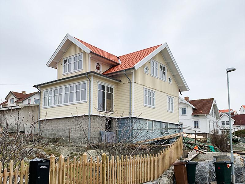 Ombyggnad bohuslänskt hus